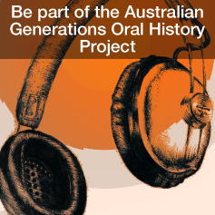 Australian Generations Oral History headphones