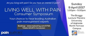 Living Well With Pain Consumer Symposium