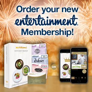 Order your new Enteraintment Membership!