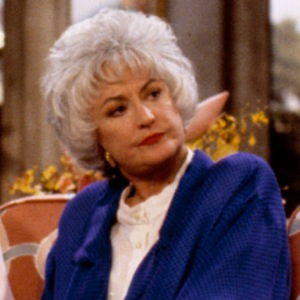 Bea Arthur as Dorothy Zbornak on The Golden Girls