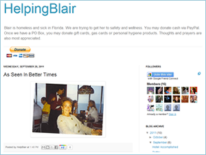 HelpingBlair screenshot