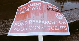 Millions Missing placard